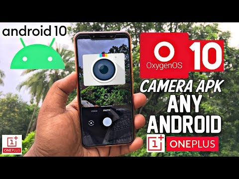 OxygenOS 10 Camera APK For Any Android | OnePlus Stock App | Hindi
