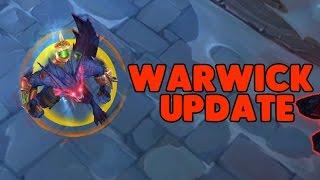 WARWICK CHAMPION UPDATE SPOTLIGHT! (League of Legends)