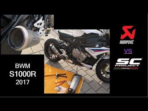 Bmw S1000r Akrapovic Serie Vs Sc Project Cr T Im Vergleich Im