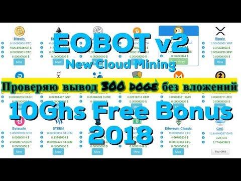 Eobot v2 - Проверяю вывод 300 doge без вложений