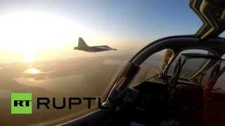 Из кабины пилота: полет новейшего Су-25СМ3 от первого лица
