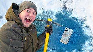 Нашли iPhone 12 и другие жуткие находки во льдах