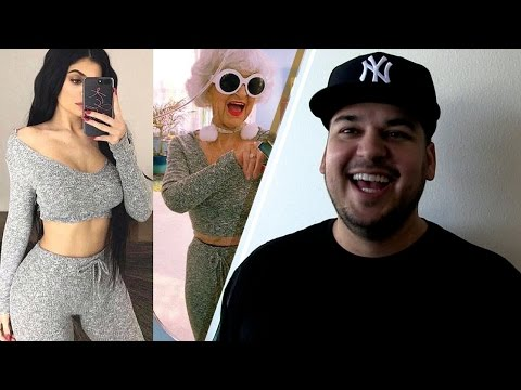 Kylie Jenner Thrown CRAZY SHADE by Her Own Brother Rob Kardashian in Hilarious Instagram Post