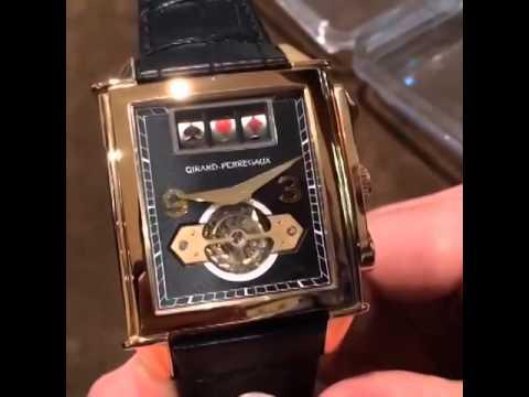 ffcae2ad09f Video of the Insane Jackpot Tourbillon from Girard Perregaux! - YouTube