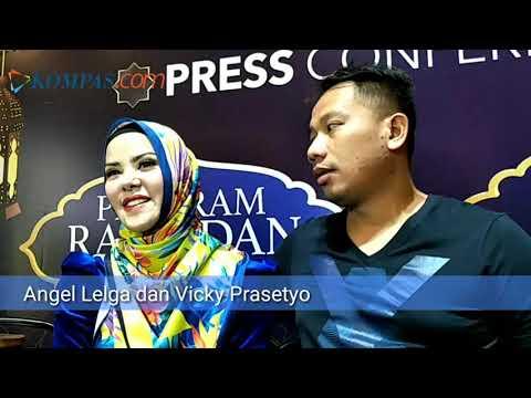 Ungkapan Angel Lelga Tentang Sulitnya Jadi Istri Vicky Prastyo