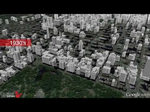 Midtown Manhattan Growth Animation