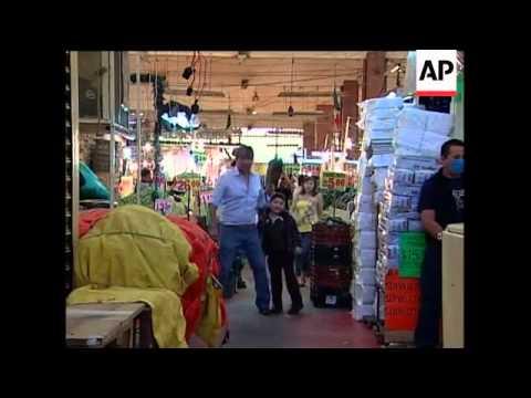 WRAP Mexico City feels effects of flu outbreak, presser, Congress