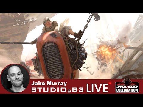 Star Wars artist interview with Jake Murray