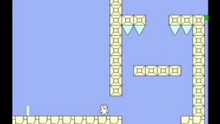しょぼんのアクション9面を初見プレイpart2【ゆっくり実況】