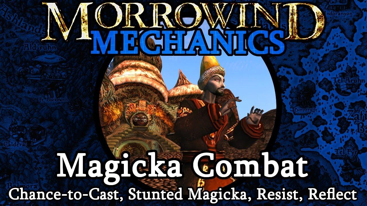 Magicka Combat - Morrowind Mechanics