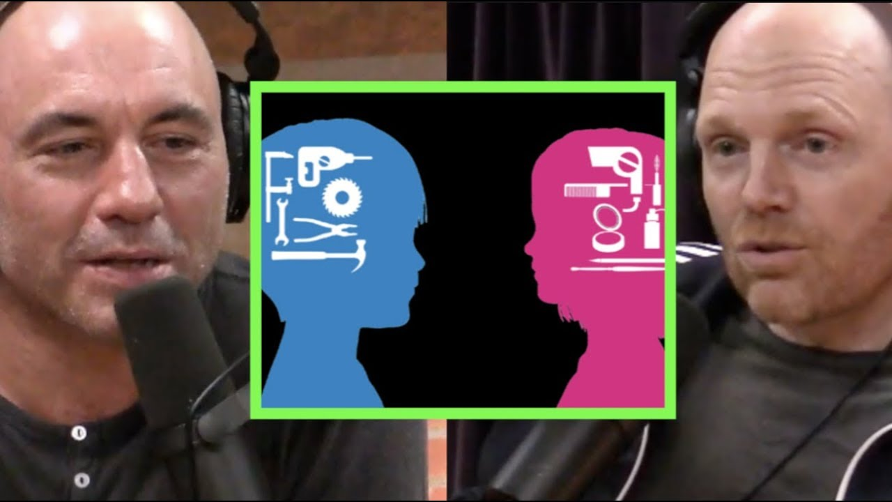 Joe Rogan & Bill Burr - Society Doesn't Dictate Gender Differences