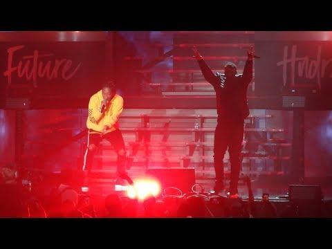 Drake  Jumpman w Future, Gyalchester & Portland w Quavo at The Forum 2017