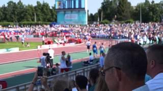 Чемпионат Европы по легкой атлетике 2015 Чебоксары 800 метров мужчины 21 июня