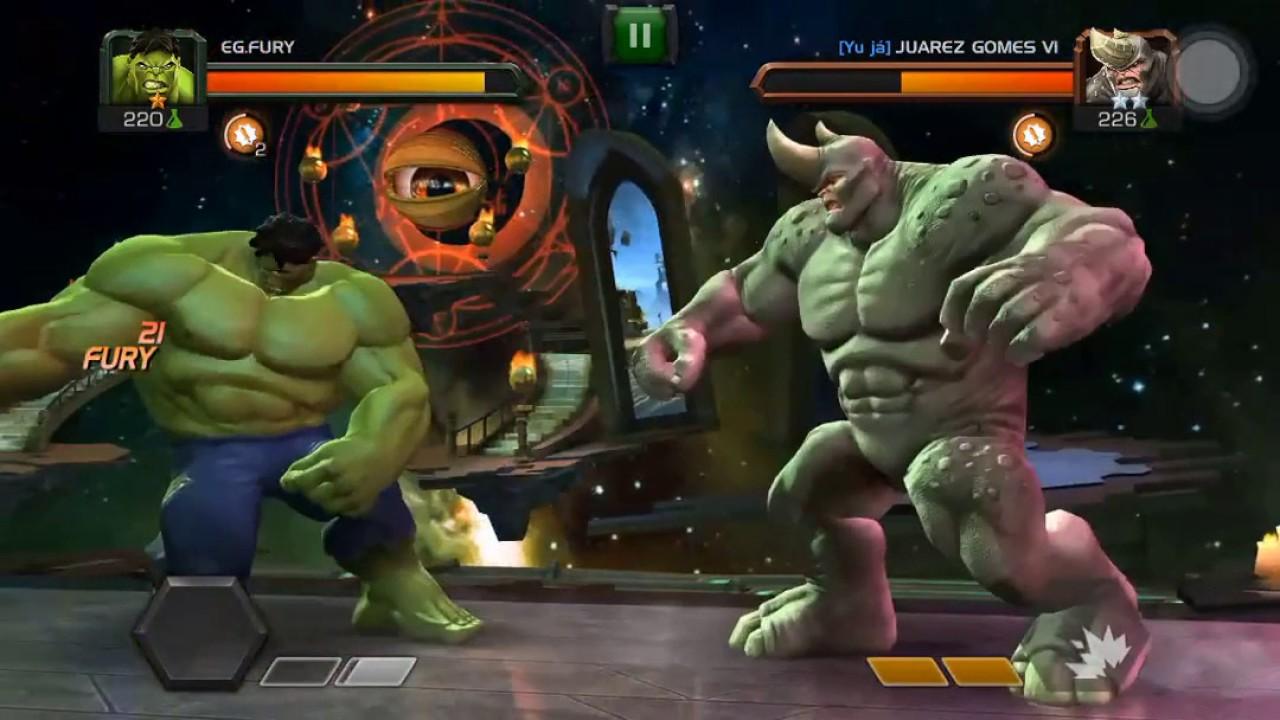 Hulk vs rhino