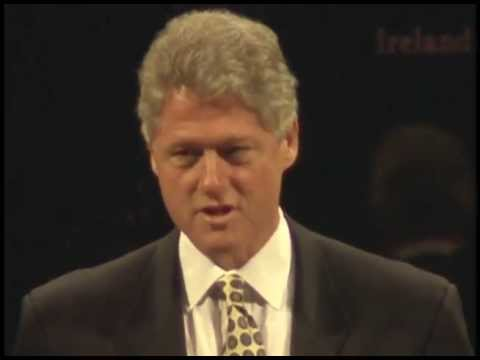 Clinton's Remarks to White House Conf. on Trade and Investment in Ireland (1995)