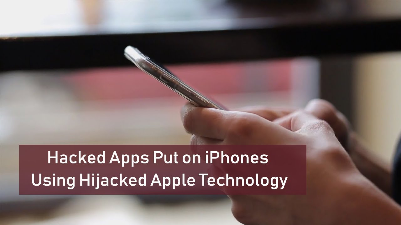 Hacked Apps Put on iPhones Using Hijacked Apple Technology