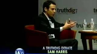 Sam Harris Witchcraft Analogy For Religion (FUNNY!)