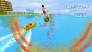 Water Sports (Wii) Wakeboarding gameplay