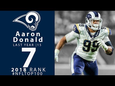 #7: Aaron Donald (DT, Rams) | Top 100 Players of 2018 | NFL