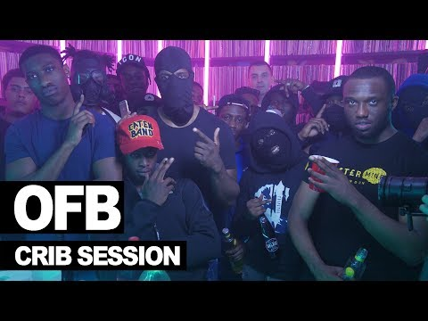 OFB RV & Headie One freestyle - Westwood Crib Session