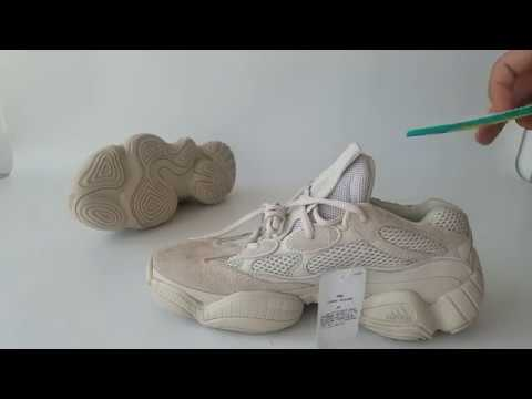 4d6e66781 UA Yeezy Boost 500 Beige Unboxing Review - YouTube