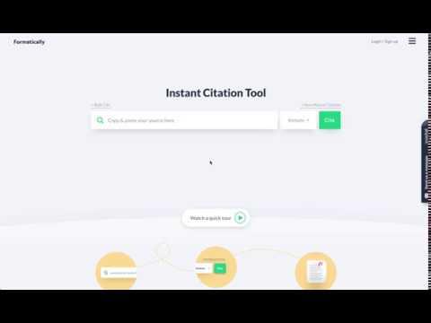 Instant Citation Tool Tutorial