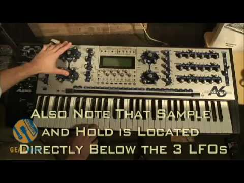 Alesis Andromeda A6: 16-Voice Analog Synth Overview, Part 1