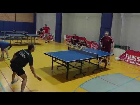 Игры в настольный теннис нестандартные