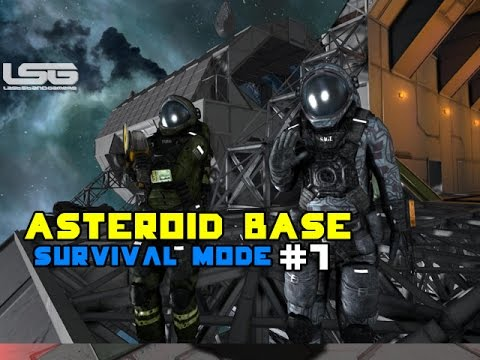 Space Engineers - Building Into An Asteroid, Base Construction SE2 - Part 7