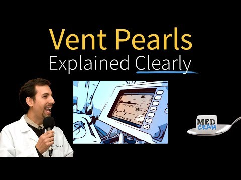 Ventilator Pearls Explained Clearly by MedCram.com