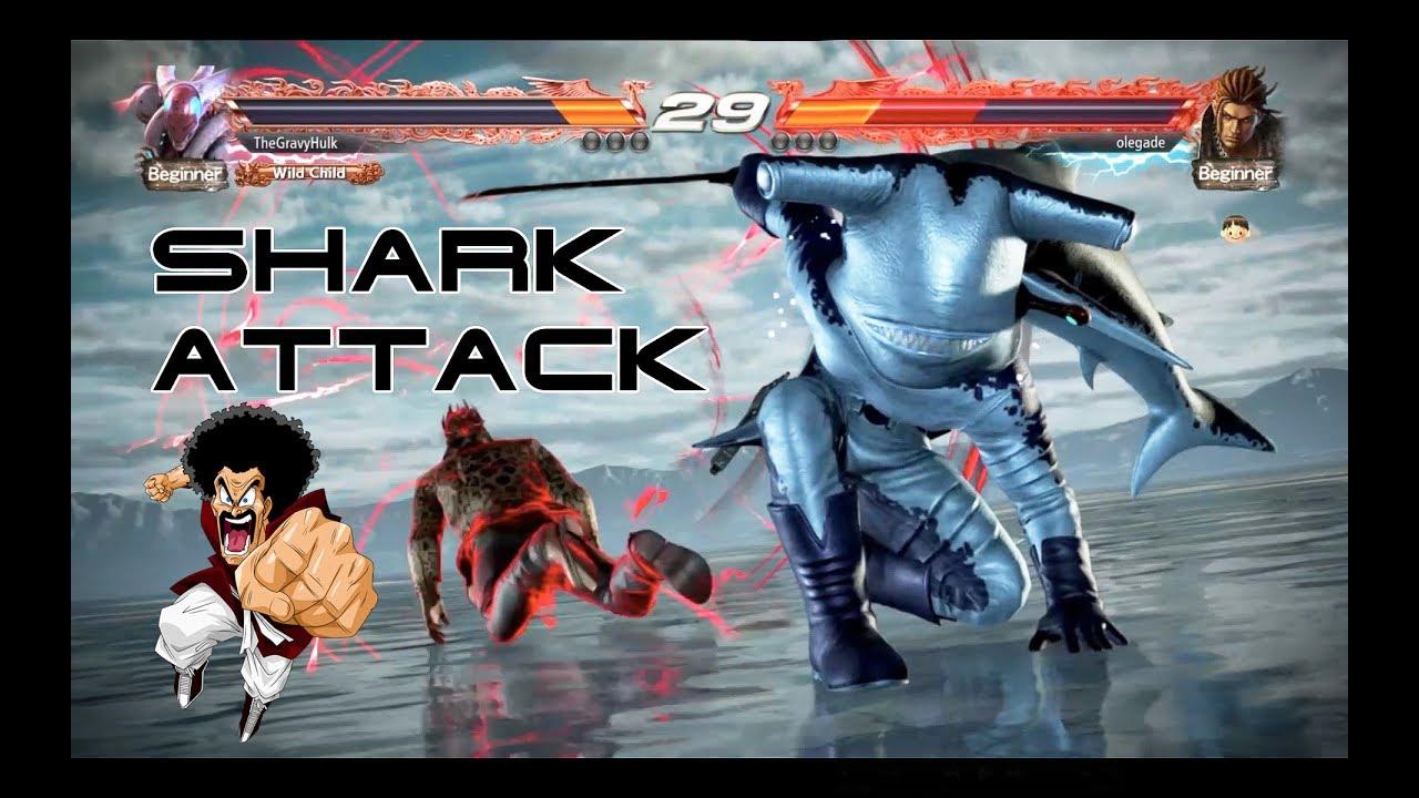 Tekken 7 Yoshimitsu Full Shark Costume Hilarious Final Round