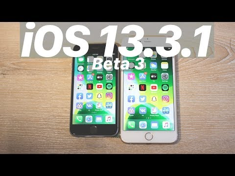 iOS 13.3.1 Beta 3 vs. iOS 13.3 : Speed Test! SPEED BOOST? iPhone 6S in 2020