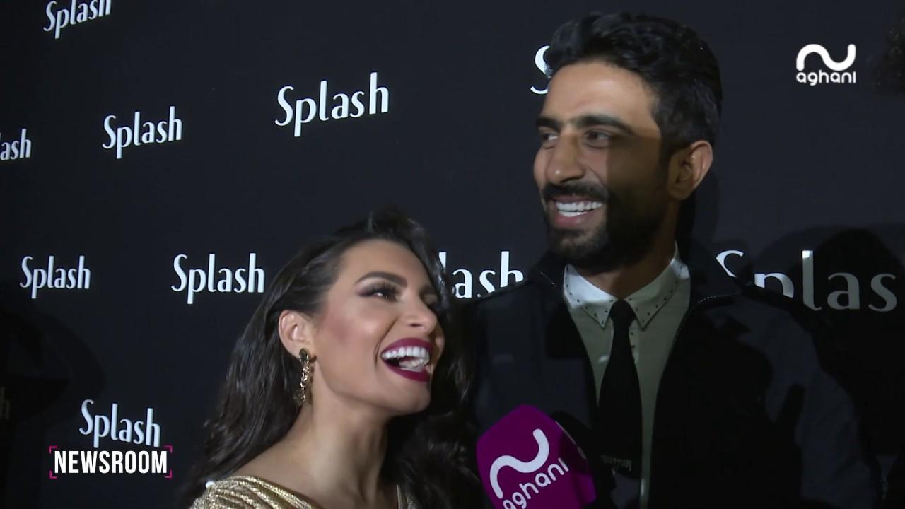 سعد رمضان يلعب دور مراسل أغاني أغاني في العيد الـ 25 لـ Splash !