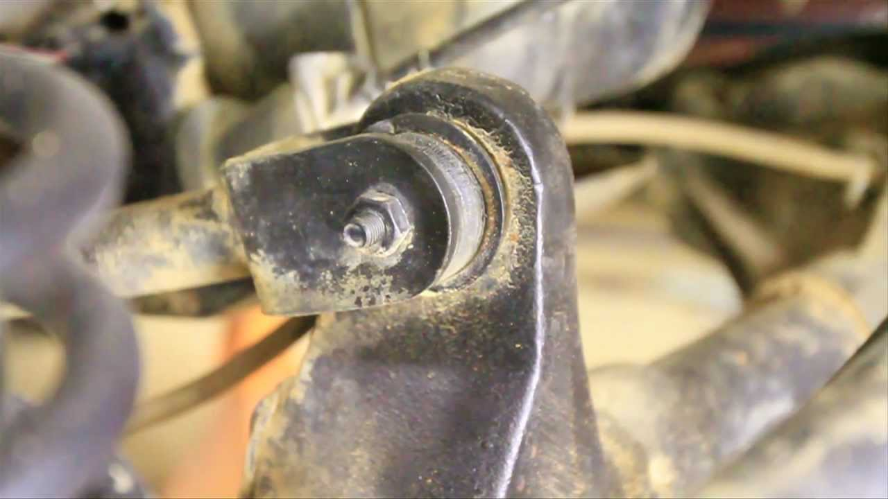 Replace Upper Control Arm Bushings Youtube