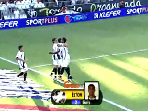 Campeonato Carioca 2009 - Vasco 3x0 Friburguense - Gols da partida