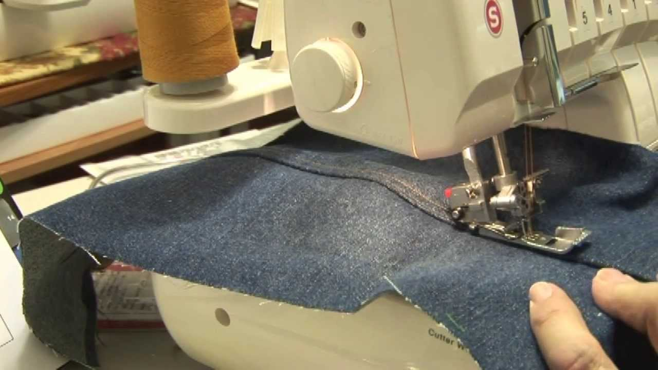 how to use a singer serger