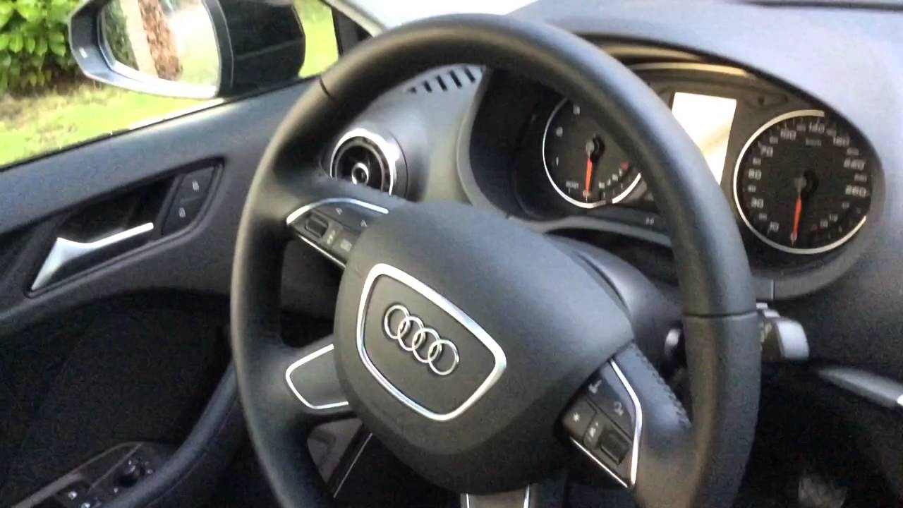 Audi a3 2016 review b o panoramic roof monopur milano leather sport seats youtube
