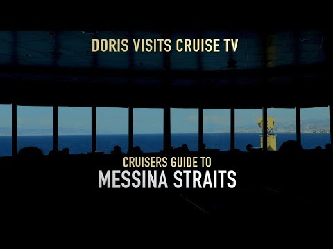Cruise Guide to the Strait of Messina, P&O Aurora R717 from Doris Visits