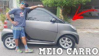 FABINHO DO SMART - MOSTRANDO O CARANGO E FAZENDO UM ROLE MONSTRO - SMART FORTWO