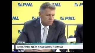 Johannis nem akar autonómiát! Thumbnail