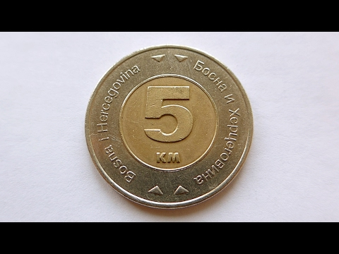 5 Convertible Mark Coin :: Bosnia & Herzegovina 2009