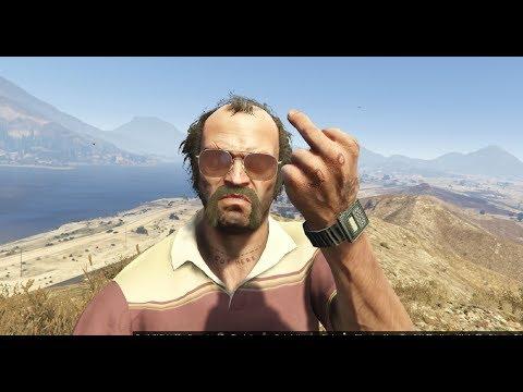 Grand Theft Auto V the best of Trevor Phillips