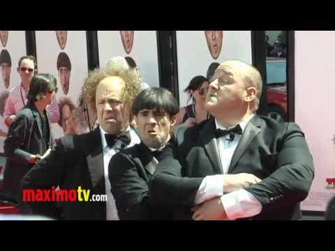 "Sean Hayes, Chris Diamantopoulos and Will Sasso at ""The Three Stooges"" Premiere"