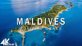 Maldives 4K - Relaxing Music Along With Beautiful Nature Videos
