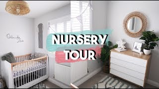 SCANDI BOHO NURSERY TOUR | SMALL NURSERY INSPIRATION