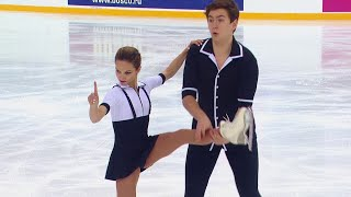 Дарья Павлюченко Денис Ходыкин Короткая программа Кубок России Третий этап
