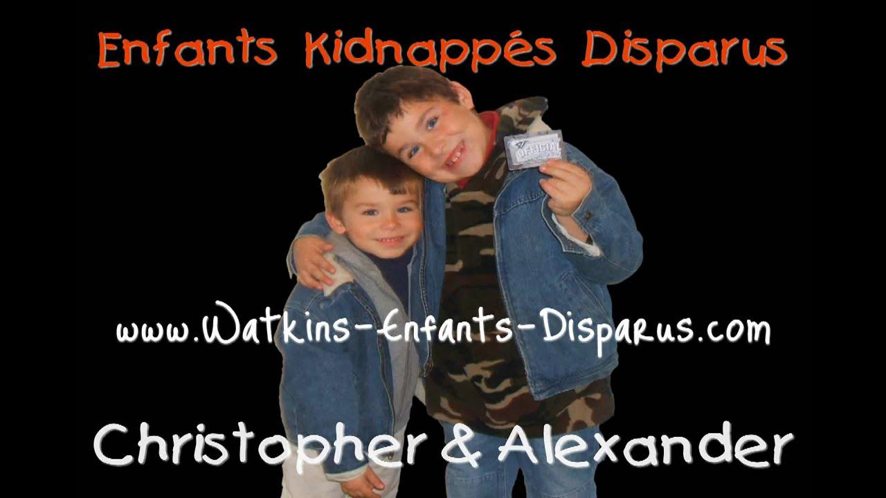 enfants disparus enfants kidnappes disparus histoire de l 39 enlevement watkins youtube. Black Bedroom Furniture Sets. Home Design Ideas
