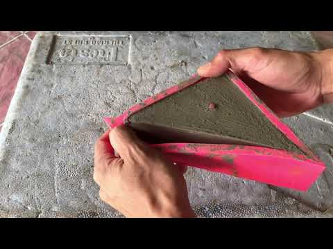 Triangle Silicone Pot Mold With Thin Walls? Use Wood Blocks