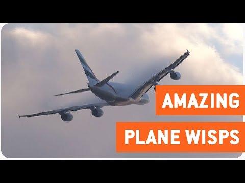 Emirates A380 Plane Cuts Cloud   Cloudkicker