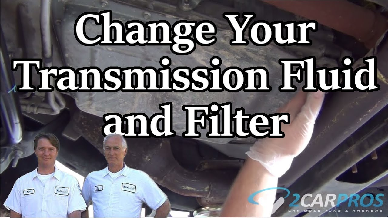 Transmission Filter And Fluid Service Ford F